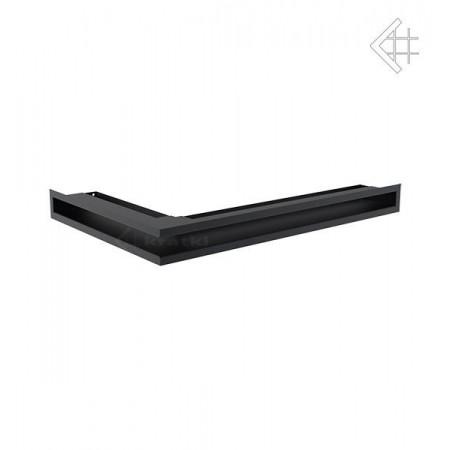 Kratka wentylacyjna luft narożny prawy 400x600x60 mm - kolor grafitowy