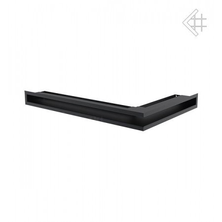 Kratka wentylacyjna luft narożny lewy 600x400x60 mm - kolor grafitowy