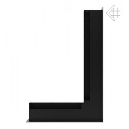 Kratka wentylacyjna luft narożny prawy 400x600x60 mm - kolor czarny