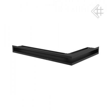 Kratka wentylacyjna LUFT SF narożny lewy 600x400x60 mm - kolor czarny