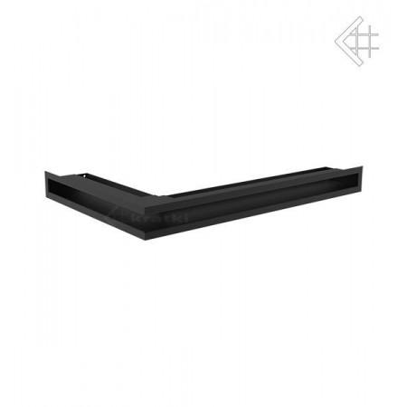 Kratka wentylacyjna LUFT SF narożny prawy 400x600x60 mm - kolor czarny