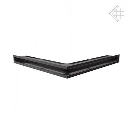 Kratka wentylacyjna LUFT SF narożny 560x560x60 mm - kolor czarny