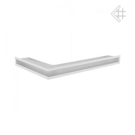 Kratka wentylacyjna LUFT SF narożny prawy 400x600x60 mm - kolor biały