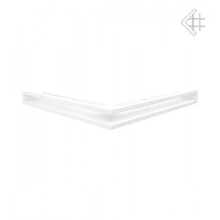 Kratka wentylacyjna LUFT SF narożny 560x560x60 mm - kolor biały