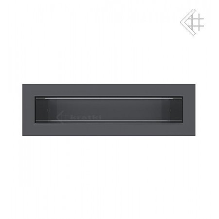 Kratka wentylacyjna LUFT SF 60x200 mm - kolor grafitowy