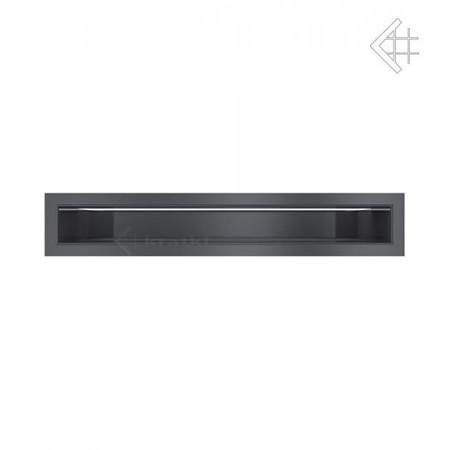 Kratka wentylacyjna LUFT SF 60x400 mm - kolor grafitowy