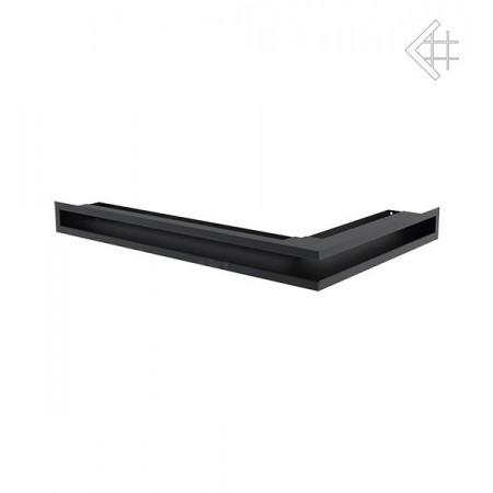 Kratka wentylacyjna LUFT SF narożny lewy 600x400x60 mm - kolor grafitowy