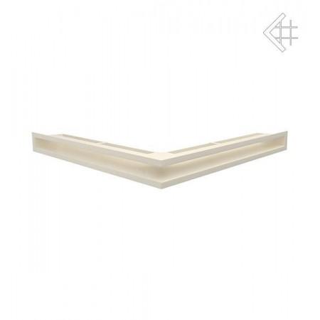 Kratka wentylacyjna LUFT SF narożny 560x560x60 mm - kolor kremowy