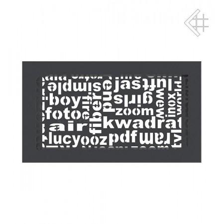 Kratka wentylacyjna ABC 17/30 grafit