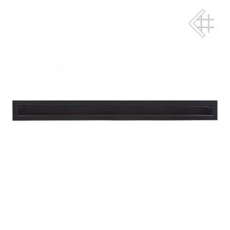 Kratka wentylacyjna luft 60x1000 mm - kolor czarny
