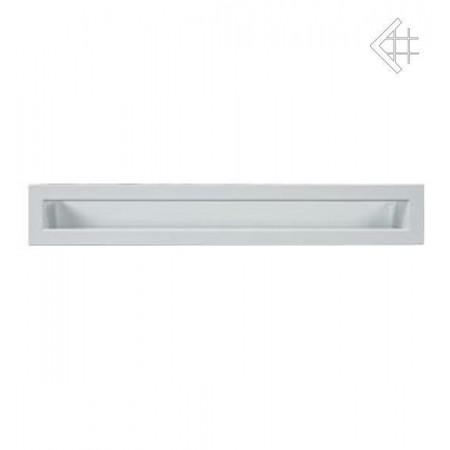 Kratka wentylacyjna luft 60x600 mm - kolor biały