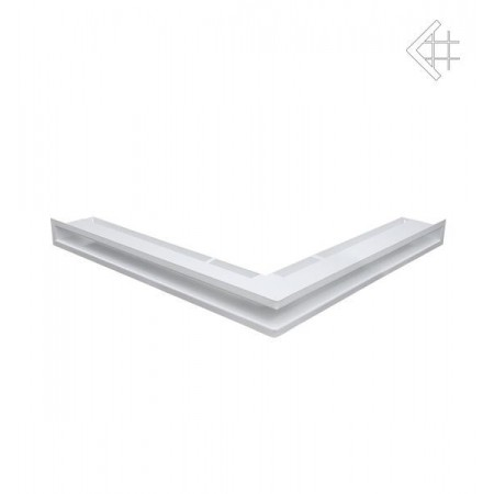 Kratka wentylacyjna luft narożny 560x560x60 mm - kolor biały