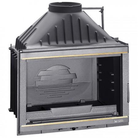 LAUDEL 700 GRANDE VISION z szybrem, doprowadzenie powietrza, srebrne wykończenie