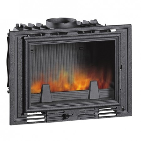 Uniflam  700  - kaseta kominkowa  z doprowadzeniem powietrza