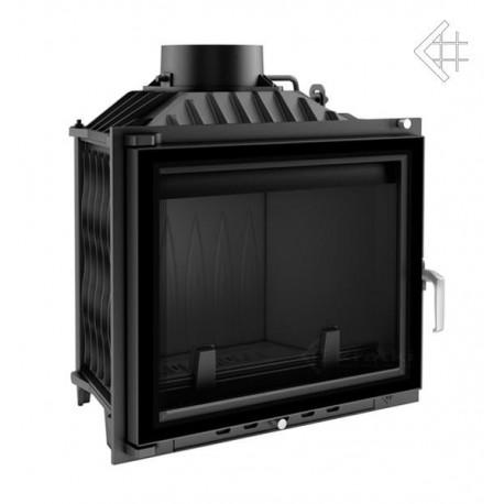 Wkład kominkowy Antek 10 kW + dolot + glass