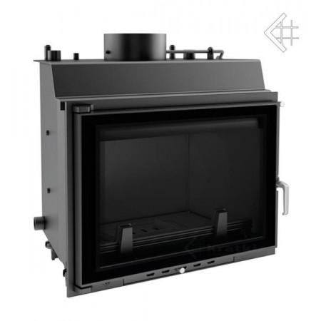 Wkład kominkowy z płaszczem wodnym Wiktor 12 kW pw + dolot + glass