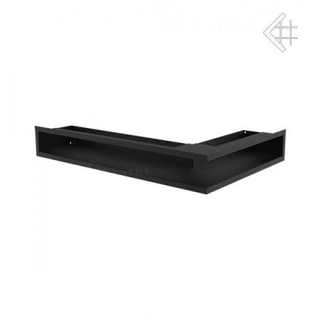 Kratka wentylacyjna luft narożny lewy 600x400x90 mm - kolor czarny