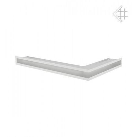 Kratka wentylacyjna luft narożny lewy 600x400x60 mm - kolor biały