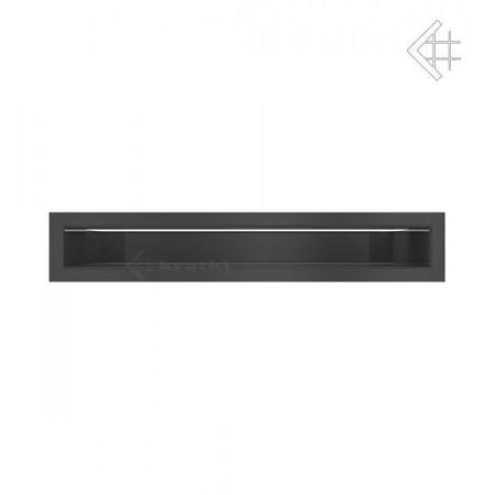 Kratka wentylacyjna LUFT SF 60x400 mm - kolor czarny