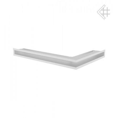 Kratka wentylacyjna LUFT SF narożny lewy 600x400x60 mm - kolor biały
