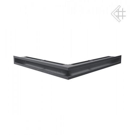 Kratka wentylacyjna LUFT SF narożny 560x560x60 mm - kolor grafitowy