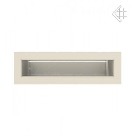 Kratka wentylacyjna LUFT SF 60x200 mm - kolor kremowy