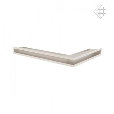 Kratka wentylacyjna wentylacyjna LUFT SF narożny lewy 600x400x60 mm - kolor kremowy