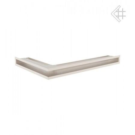 Kratka wentylacyjna LUFT SF narożny prawy 400x600x60 mm - kolor kremowy
