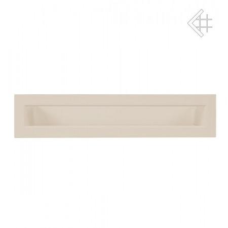 Kratka wentylacyjna luft 60x400 mm - kolor kremowy
