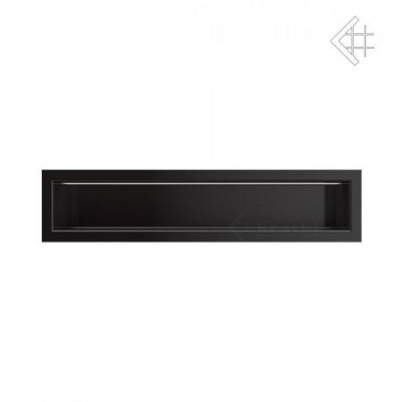 Kratka wentylacyjna luft 90x400 mm - kolor czarny