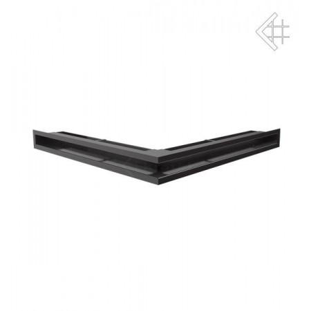 Kratka wentylacyjna luft narożny 560x560x60 mm - kolor grafitowy