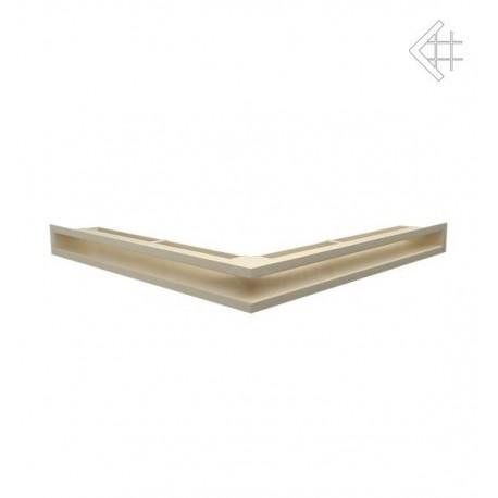 Kratka wentylacyjna luft narożny 560x560x60 mm - kolor kremowy