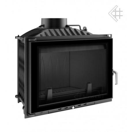 Wkład kominkowy Wiktor 14 kW + dolot + glass