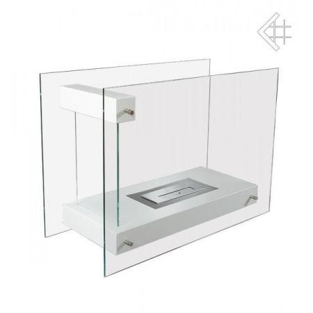 Biokominek Linate biały